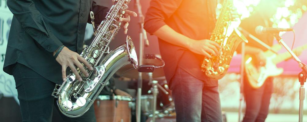 Concerto di jazz all'aperto