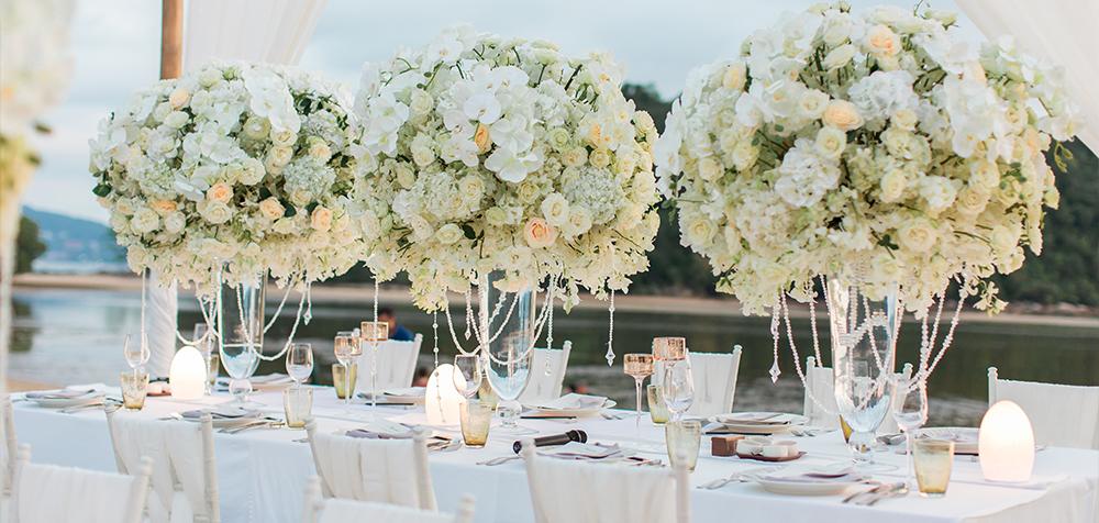 decorazioni tavola matrimonio